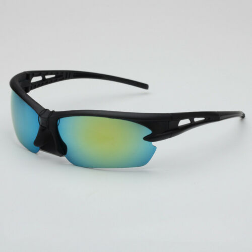 Mens Flameproof Sunglasses Cycling Goggles Outdoor Sports Bike Polarized Glasses