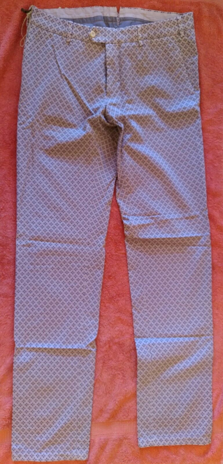 PANTALONES men abcm2 purpleA size 48 MADE IN ITALY