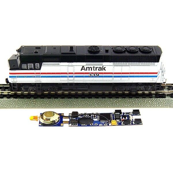 MRC 1810, N Scale, DCC Drop-in .75 Amp 28 Function Sound Decoder for Kato F40PH