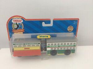 Thomas-amp-Friends-Wooden-Railway-Sodor-Tramways-Flora-Brand-New-amp-Sealed