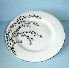 "Kate Spade GARDNER STREET Platinum Salad Dessert Plate 8"" New"