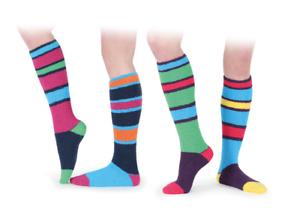 Shires Ladies Fluffy Knee High Socks