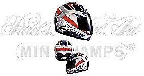 Helmet Ruben Xaus 2001 1 2 Replica Model MINICHAMPS