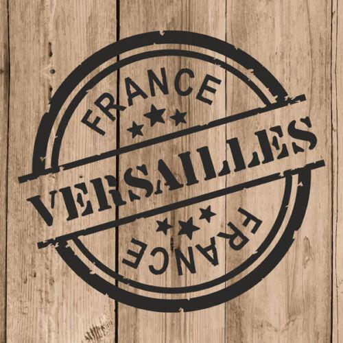 "4/"" Decal Stamp Versailles France Car Laptop Versailles Sticker Vinyl 10 cm"