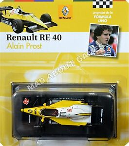 RENAULT-RE40-ALAIN-PROST-15-1-43-Scale-F1-Racing-Car-Model-Formula-One