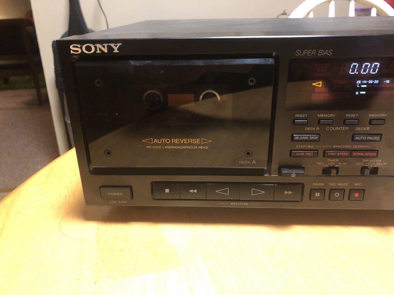 Sony TC-WR801ES 4 Belts TCWR801ES Belt Kit For Cassette Deck