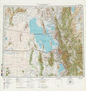 Russian Soviet Military Topographic Maps - SALT LAKE CITY (USA, Utah ...