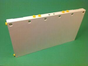 Playmobil-Garage-Ersatzteil-Seitenwand-Wand-mit-Tuer-aus-4084-O342