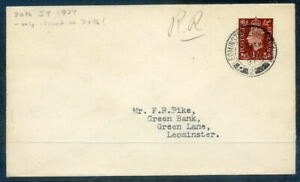 Great Britain 1937 1½d Red-brown fist day cover dated July 30th (2020/09/12#02)