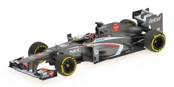Sauber F1 N. Hulkenberg Showcar 2013 1 43 Model MINICHAMPS
