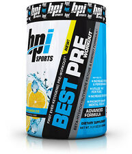 BPI Sports Best Pre-Workout Blueberry Lemon Ice Muscle Enhancement (30 Servings)