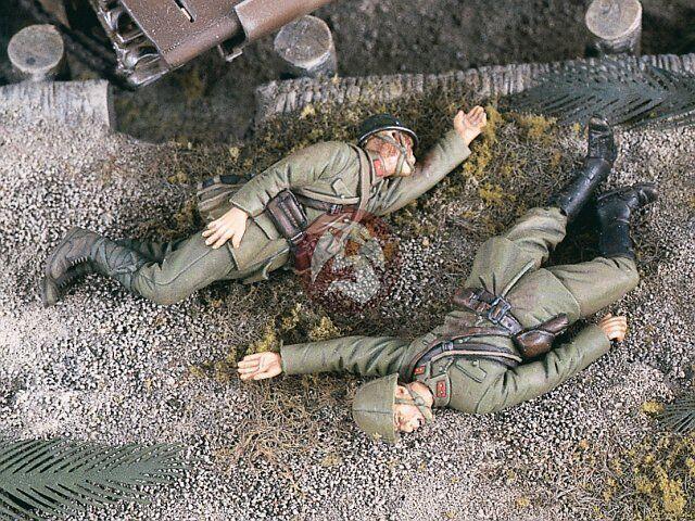 Verlinden 1 35 Japanese Casualties in Pacific War WWII (2 Figures) [Resin] 1870