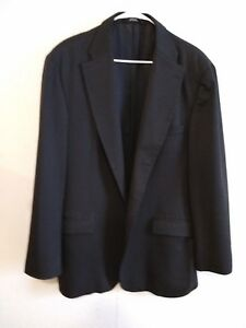 Haggar-Black-Label-Men-039-s-Size-46R-Suit-Jacket-Sports-Coat