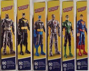 DC-Justice-League-Action-Figure-6-034-Batman-Superman-Cyborg-Green-Lantern