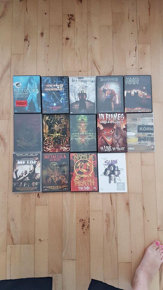 KONCERT OG MUSIK DVD, DVD, andet