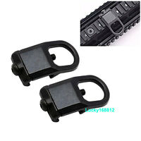 2pcs Rail Mount Sling Adapter Low Profile Attachment Point Picatinny Weaver