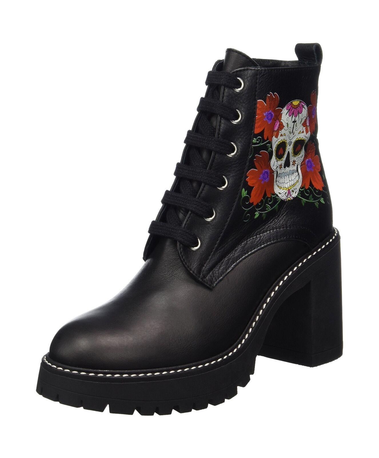 Buffalo para mujer Botas 4141 Salvaje Negro (Negro 01 0) 5.5 Reino Unido