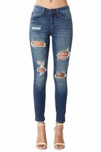 Judy-Blue-Jeans-Holland-Distressed-Mid-Rise-Skinny-JB82108