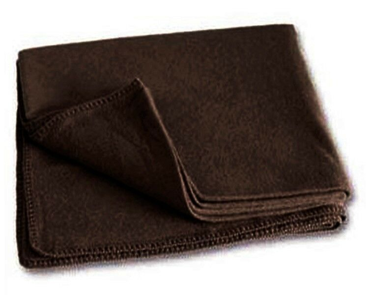 Alpaca KING Blanket 103 X 90 - DARK BROWN Peru Classy Baby Soft