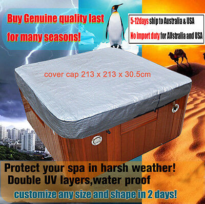 spa cover T Shirt 7Fspa cover cap 213 x 213 x 30.5cm for protecting hot tub