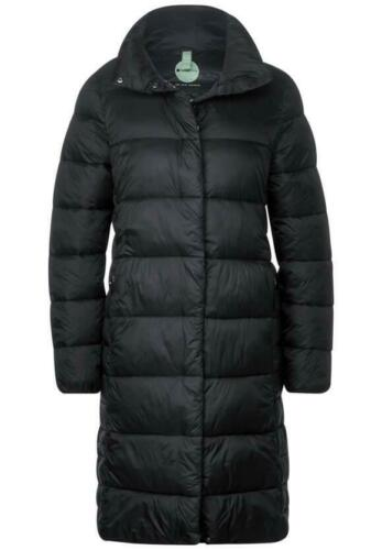 Street One Damen Langer Mantel mit Steppungen Black schwarz A201524-10001-0 NEU