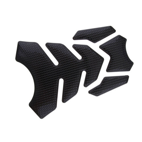 3D Gas Fuel Tank Decal Pad Gas Cap Cover Sticker Protector for Honda Black