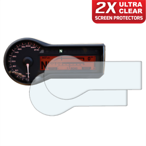 Ultra-Clear tableau de bord Screen protector 2 x bmw r1200r//RS 2015