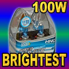H11 SUPER WHITE XENON HEADLIGHT BULBS FOR FOG LIGHT