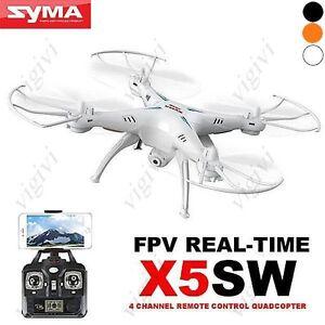 Quadricoptère Symp X5sw-1 Explorers 2 Wifi 2.0mp Fpv 2.4g Rc Rtf Dron-new