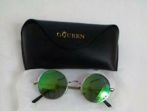 GQUEEN Clubmaster Horn Rimmed Half Frame Polarized Sunglasses GQO6 4 ... bdf6451a5033