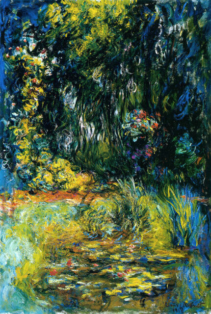 Claude Monet Water Lilies 2 canvas print giclee 8X12&12X17 reproduction painting