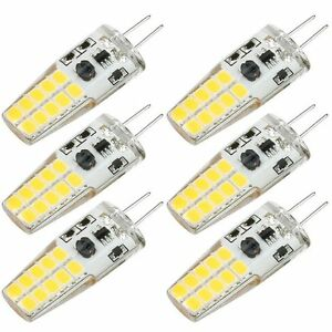 G4 light lamp LED Bulb 12V Warm White 3W Non-Dimmable 30W Equivalent appliance