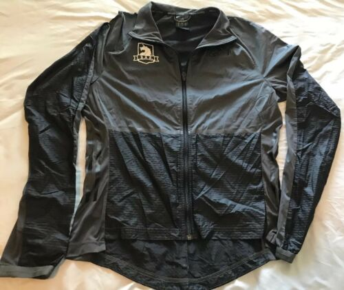Jacket Windbreaker Zip Nylon Ts8 Adidas gray Women's Med Black Running Full Baa zaqwAvOR