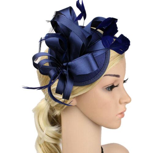 New Ladies/' Wedding Prom Party Headwear Hat Hair Cap Cambric Fascinator Hairband