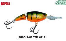 RAPALA JOINTED SHAD RAP JSR-7 col P PERCH ORIGINALE