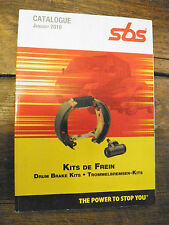 catalogue 2010 SBS Kits de freins -  drum brake kits - trommelbremsen-kits