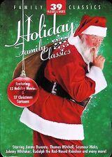 Holiday Family Classics 12 Holiday Movies & 27 Christmas Cartoons 4-Disc DVD Set