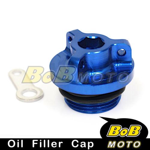 Blue Billet CNC Oil Filler Cap For Honda CBR 600 F FS F4i 1999-2007