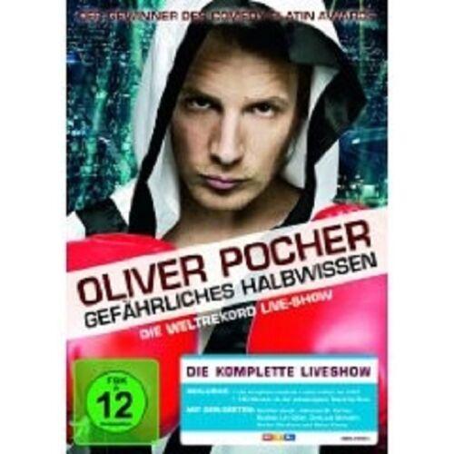 """1 von 1 - OLIVER POCHER """"GEFÄHRLICHES HALBWISSEN"""" DVD NEU"""