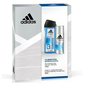 cute newest fantastic savings Details about Adidas Climacool Performance In Motion 2pc Set 150ml DEO (M)  Mens 100% Genuine (