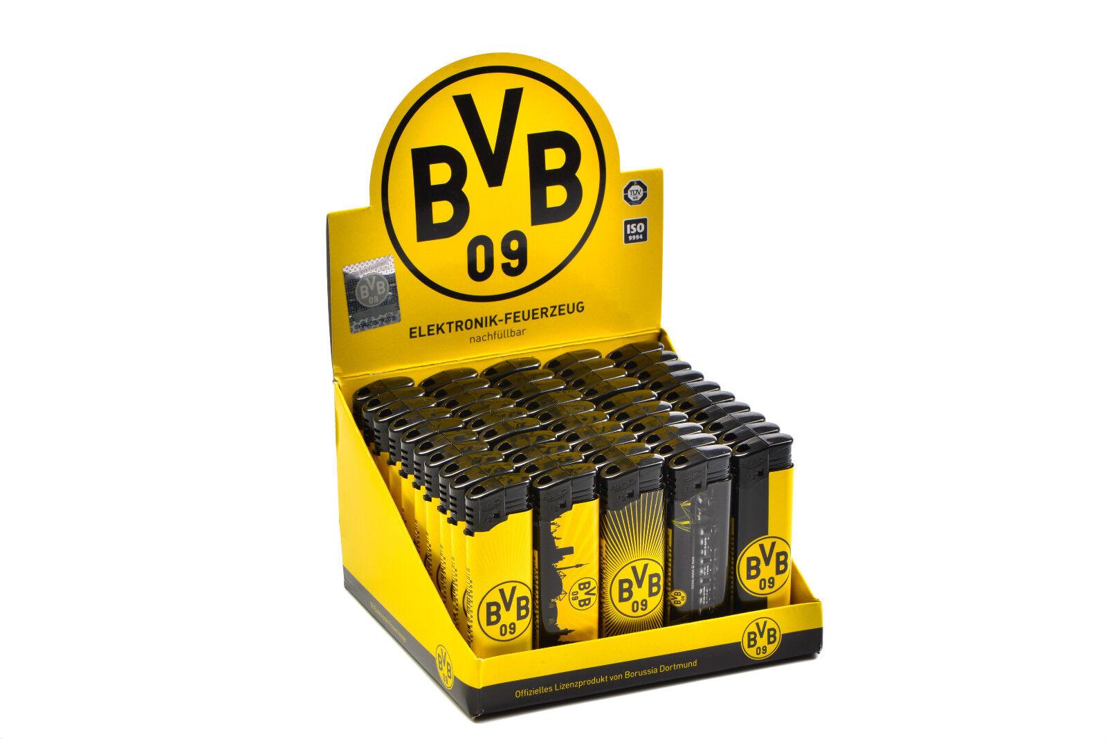 BVB 50 Elektronic verschiedene - Feuerzeuge von Borussia Dortmund 5 verschiedene Elektronic Motive NEU&O 783a8a