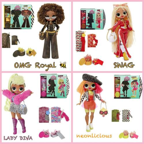 *New* LOL Surprise OMG Fashion Doll Royal Bee Swag Lady Diva Neonlicious BNIB