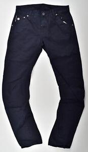 G-STAR-RAW-Arc-3D-Slim-COJ-Jeans-W31-L34-Mazarine-Blue-Berkshire-Twill