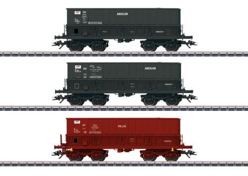 "Märklin 48436 carri merci-Set /""erztransport/"" della SNCF 3 pezzi #neu in OVP #"