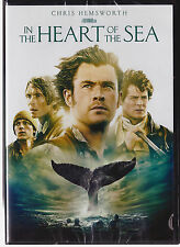 IN THE HEART OF THE SEA (DVD, 2016) NEW