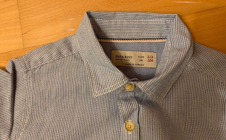 Skjorte, Perfekt stand, Zara Boys