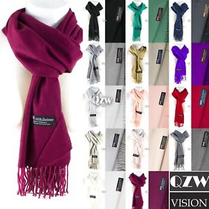 Womens-Men-100-Cashmere-Winter-Warm-Soft-Scarf-Scotland-Made-Scarves-Wrap-Wool