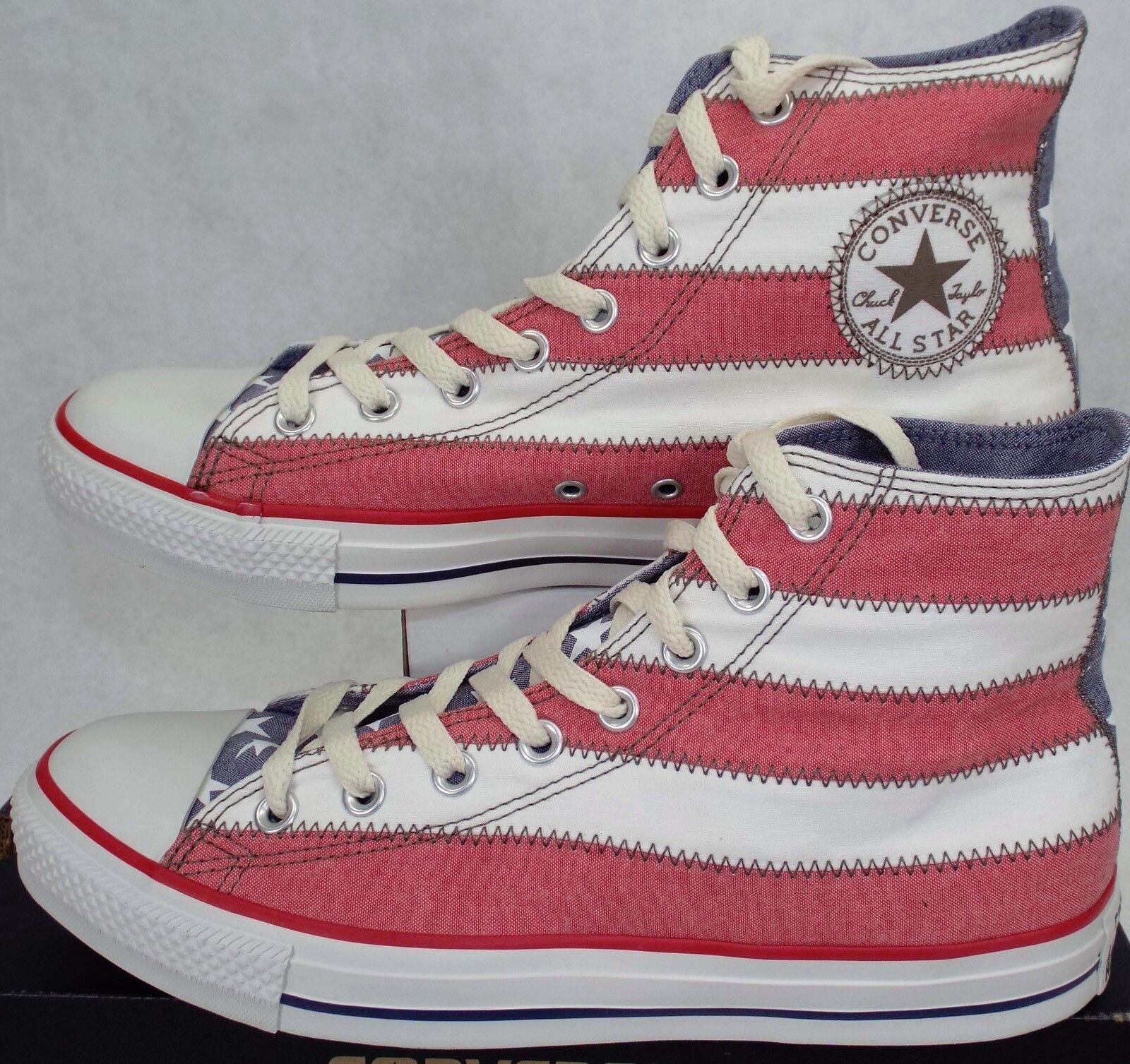 RARE Mens 9 CONVERSE CT Hi SPEC Special USA Flag shoes  90 122182 Stars Stripe