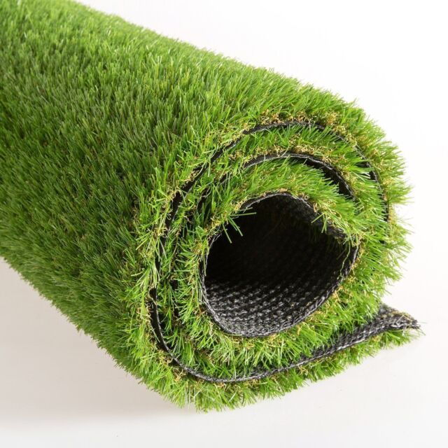 Realistic Deluxe Outdoor Rugs Artificial Grass Synthetic Turf Thick Fake Carpet For Sale Online Ebay