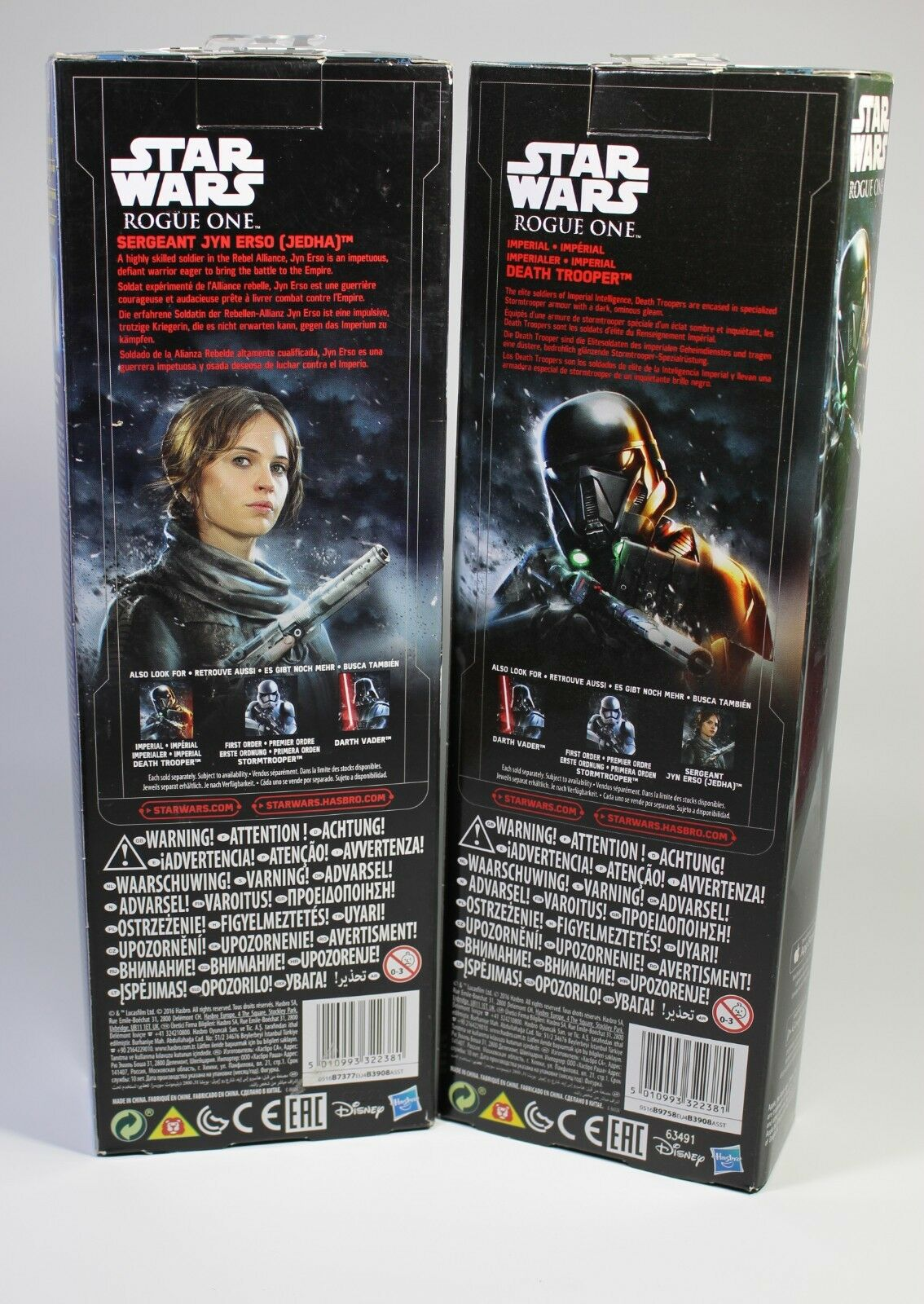 JYN ERSO & DEATH TROOPER Star Star Star Wars VII NEU Actionfigur Set Figur Spielfigur db1a8f